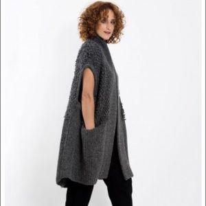 NWT Steven Alan Poncho / Sleeveless Sweater Size S